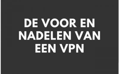 10 voordelen en nadelen van een VPN.