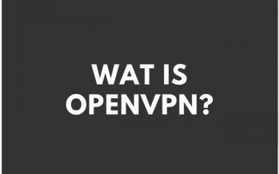 Wat is OpenVPN?
